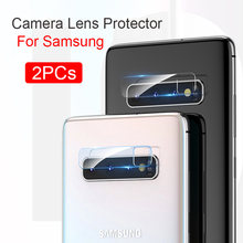 2PCs Glass For Samsung Galaxy S10 S10E Note 10 Glass Camera Lens Screen Protector For Samsung S9 S8 Plus Note 9 8 Tempered Glass(China)