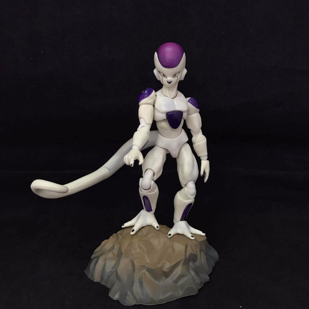 Anime Dragon Ball Z SHF Frieza Freeza The Final Form PVC Action Figure Collectible Model Kids Toys Doll shfiguarts anime dragon ball z son gokou movable pvc action figures collectible model toys doll 18cm dbaf094