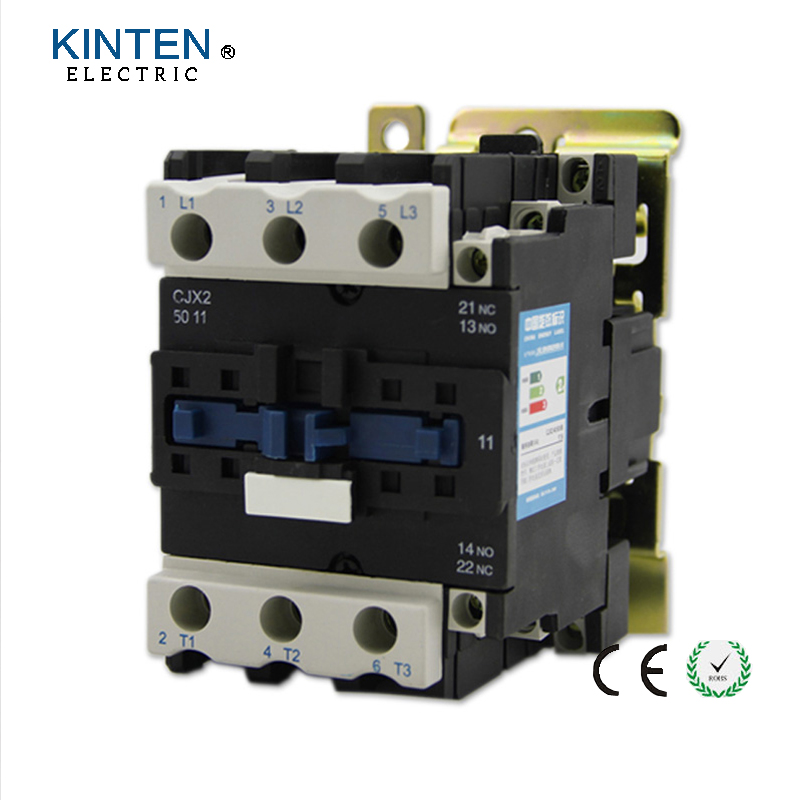 220V Coil Volt Air Condition 3 Phrase 1NO 1NC AC Contactor CJX2-5011 new lp2k series contactor lp2k06015 lp2k06015md lp2 k06015md 220v dc