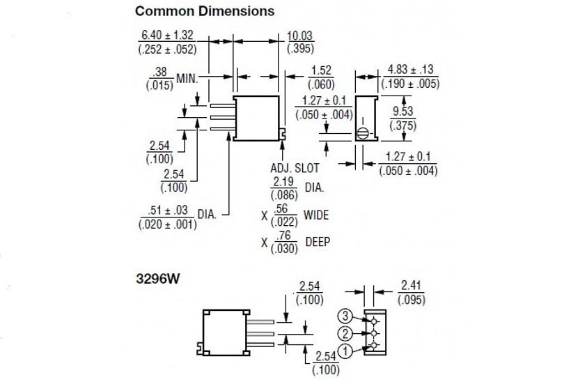 Trim Pot Resistors Diagram : 26 Wiring Diagram Images - Wiring ...