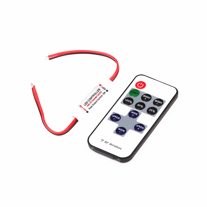 2017 New Wireless Rf Smd Rgb Led Strip Light Touch Dimmer Remotely Controller Dc Strips Remote Control For Rgb Led Strip Light Lights & Lighting