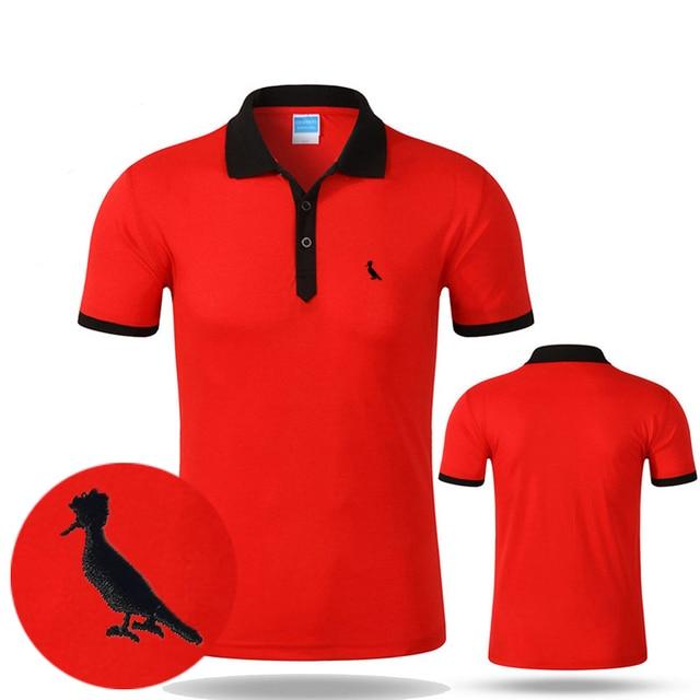 da512445be Camisa DUDALINA Camisas Polo Reserva Polo Sólidos Shirt Dos Homens de Manga  Curta Bordado Mens Casual