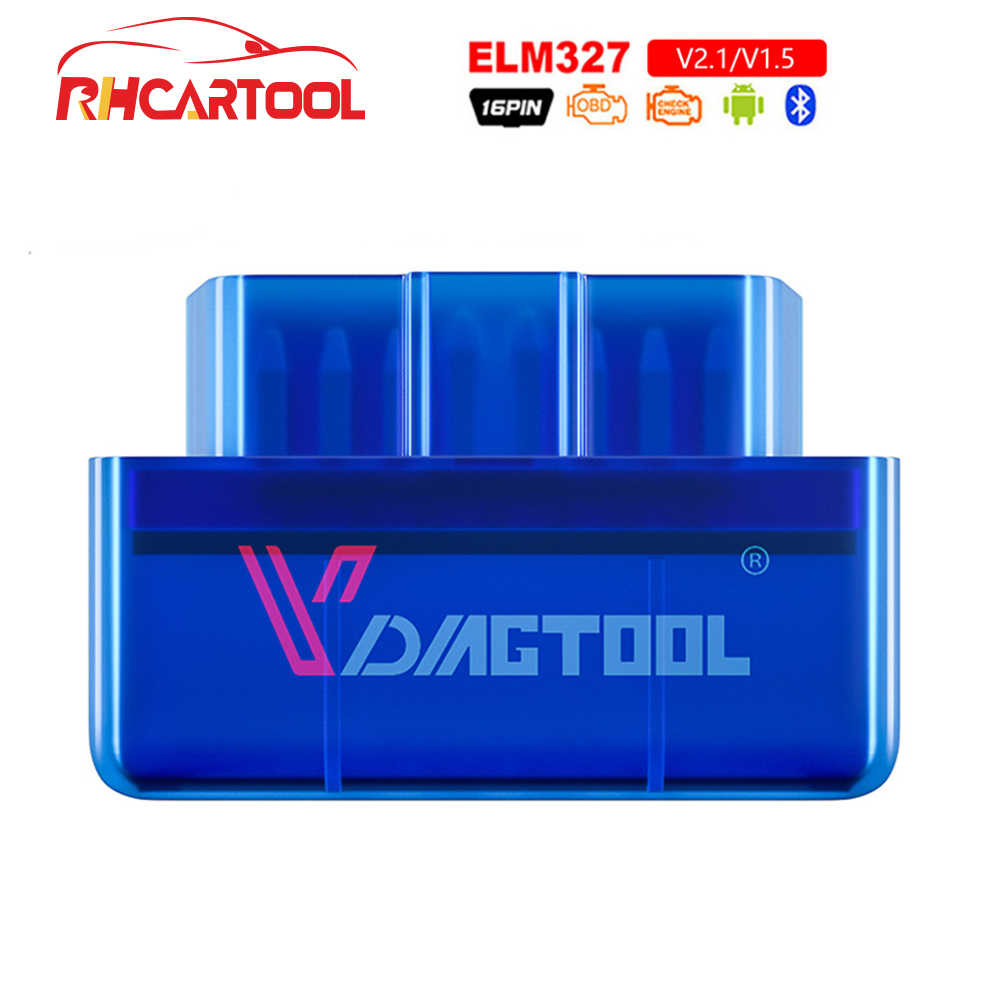 OBD2 Diagnostic ELM327 OBD2 Bluetooth V1.5 V2.1 Car Diagnostic Tool ELM 327 V1.5 OBD 2 Scanner Work Android Windows 12V Diesel