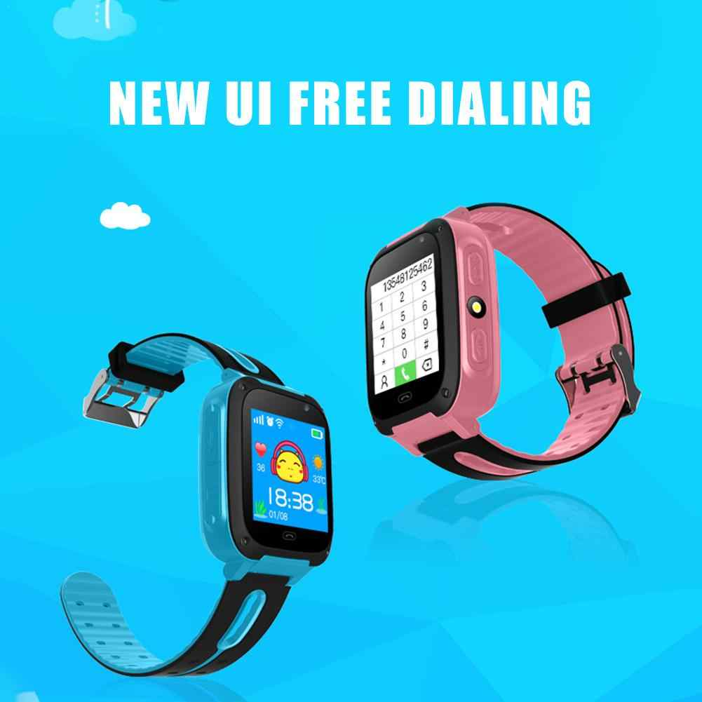 Waterproof 2019 Smart Watch Micro SIM Card Call Tracker Child Camera Anti-lost Position Alarm Smart Watch