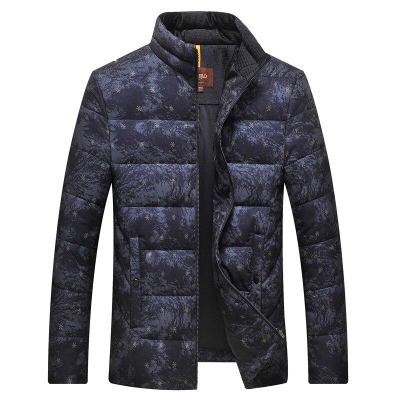 DZYS Men's   Down   Jacket Cotton Outwear Slim Warm   Down     Coat   for Men Male 7891