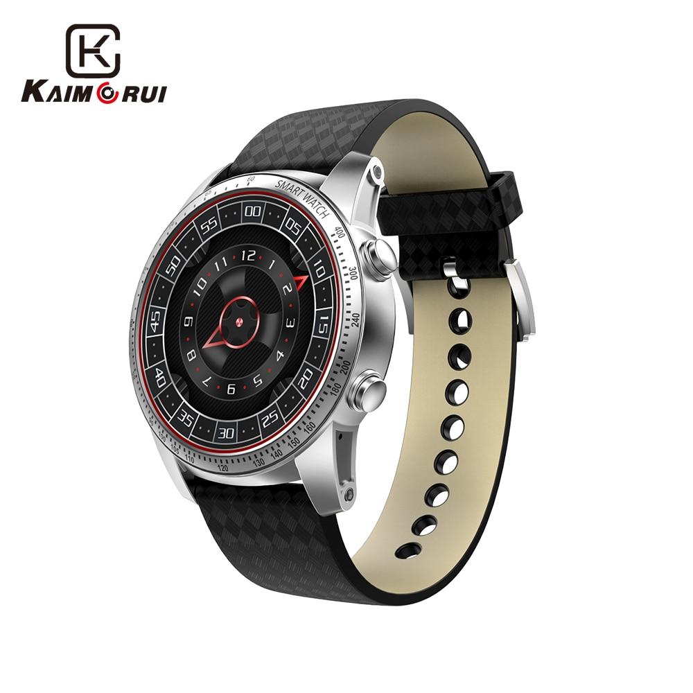 Kaimorui Smart Watch Android 5.1 MTK658 Quad Core 512MB+8GB Men Smartwatch Bluetooth Watch SIM GPS WiFi Call Reminder Wristwatch