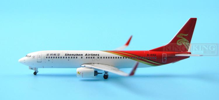 PandaModel Shenzhen Airlines B-1993 1:400 B737-800/w commercial jetliners plane model hobby pandamodel all kinds of car ferry bus 1 400 air china eastern airlines xiamen airlines ground jetliners plane model hobby