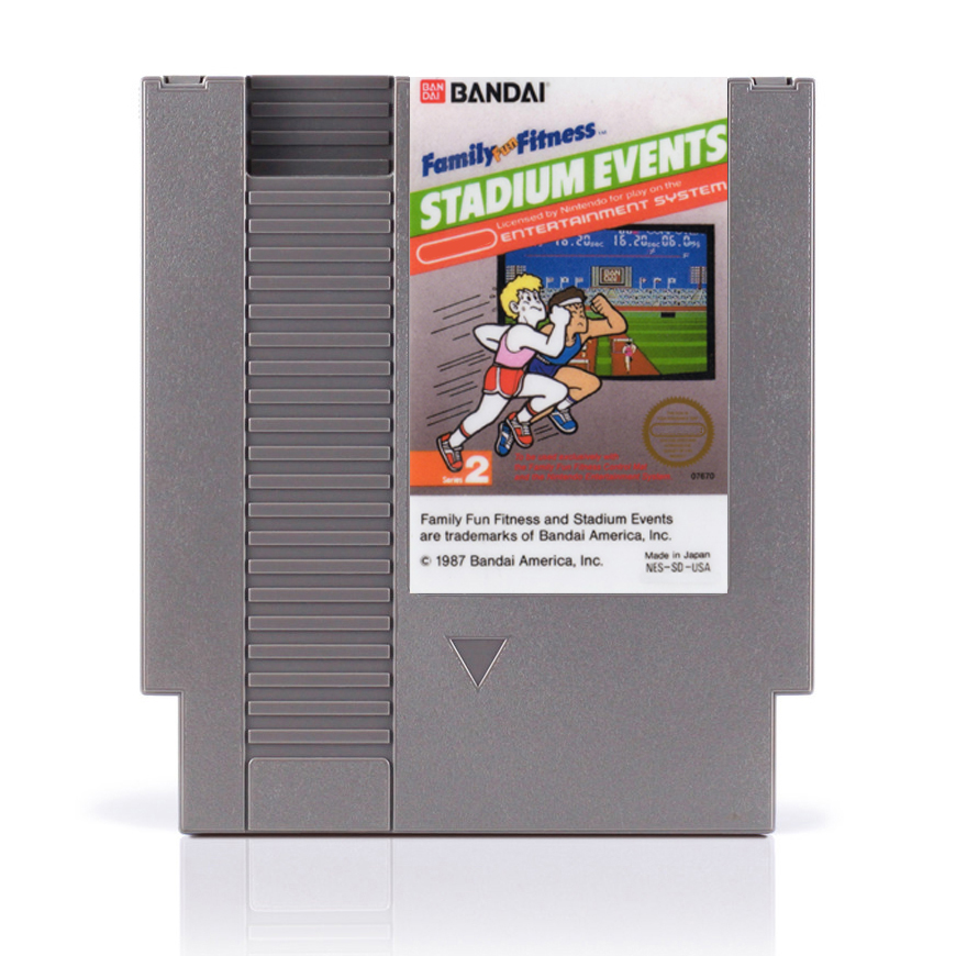 Drop Shipping Stadium Events Region Free 72 Pins Game Card For 8 Bit Game Player