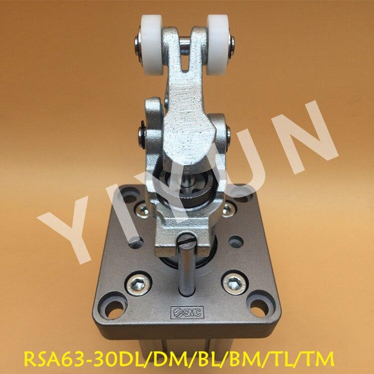 SMC brand SMC type Heavy duty stop cylinder RSA63-30DL RSA63-30DM RSA63-30BL RSA63-30BM RSA63-30TL RSA63-30TM cdujb16 20dm cdujb16 25dm cdujb16 30dm smc mini free mount cylinder cdujb series