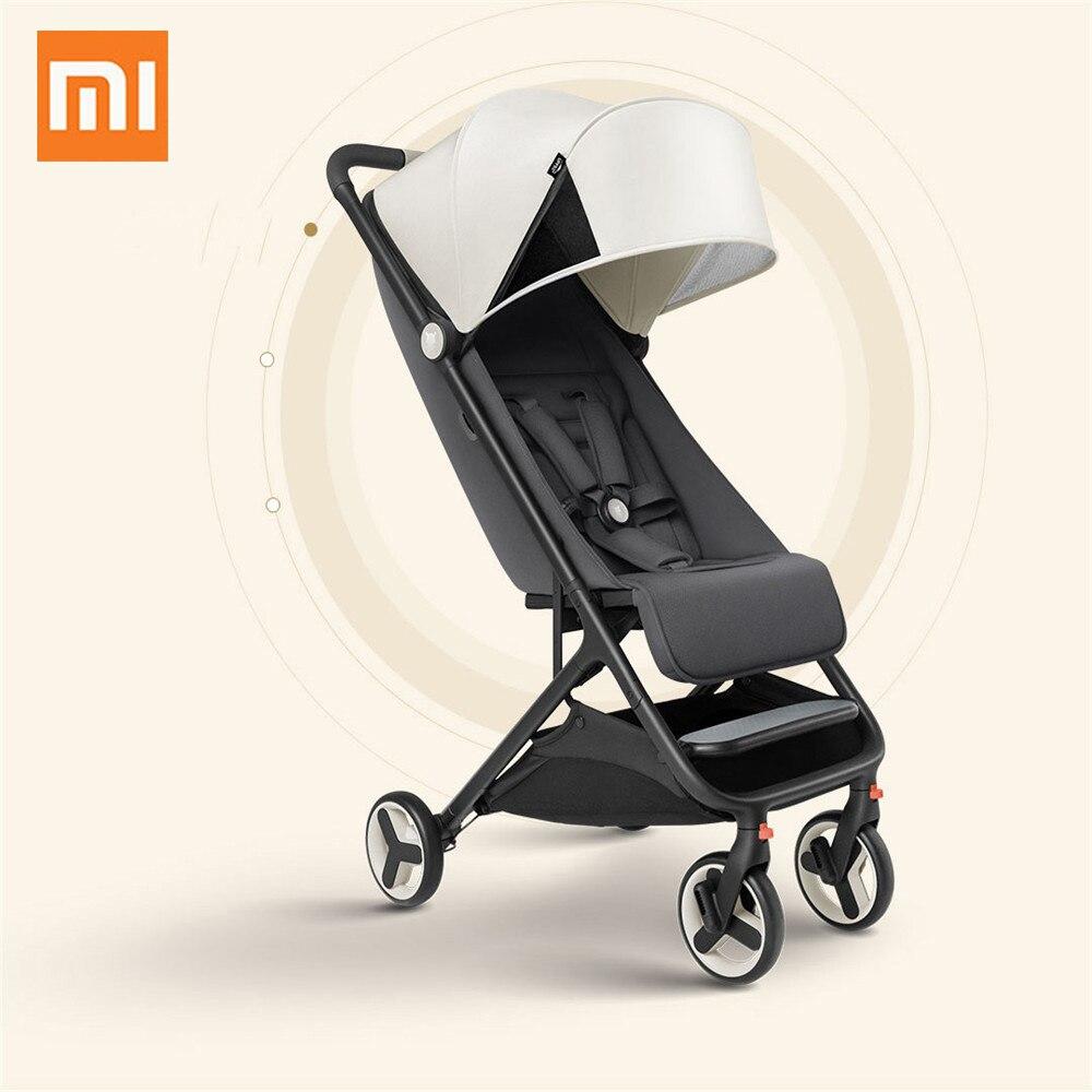 Original Xiaomi Mitu bébé poussette léger Portable voyage enfants poussette pliante poussette 4 saisons pour les enfants