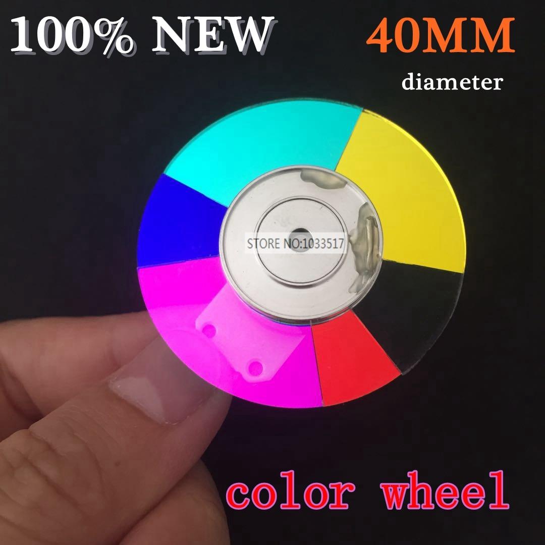 40MM diameter font b projector b font color wheel for H6520BD 6color