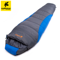 Chanodug Outdoor 220 80cm Camping Hiking Mummy Sleeping Bag For Winter Autumn Waterproof Sleeping Bag