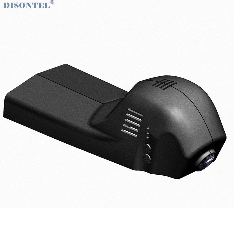 Disontel Dash Cam voiture DVR 1080 P Novatek 96655 avec application WIFI pour BMW 1/3/4/5/7/X3/X4/GT enregistreur vidéo