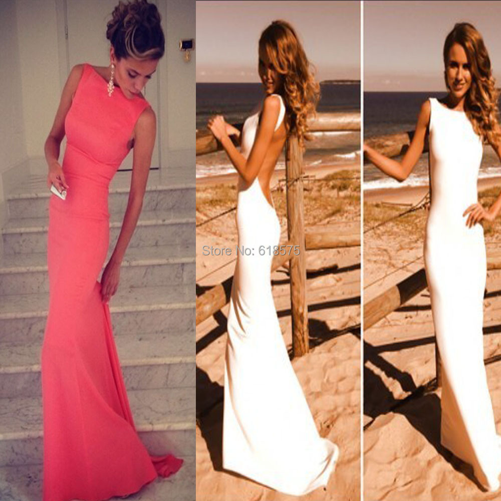 Bridesmaid dresses pink and black picture more detailed picture romantic white coral bridesmaid dresses wedding party dresses 2015 bateau hollow backless mermaid vestidos ombrellifo Image collections