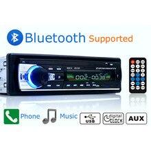 1 Din fm-радио автомобиля 12 В Bluetooth разъем ISO JSD520 стерео в тире AUX FM MP3 автомобиля стерео-dash MP3 плеер