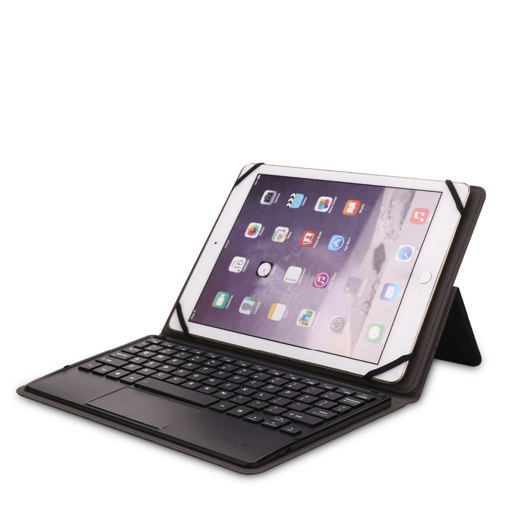 Kemile Universa Wireless Bluetooth 3.0 touchpad Keyboard for Samsung Galaxy Tab A 10.1 2016 T585 T580 SM-T580 T580N Case Cover new ru for lenovo u330p u330 russian laptop keyboard with case palmrest touchpad black