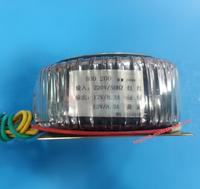12V 8.3A 12V 8.3A Ring transformer copper custom 200VA toroidal transformer 220V input for power supply amplifier