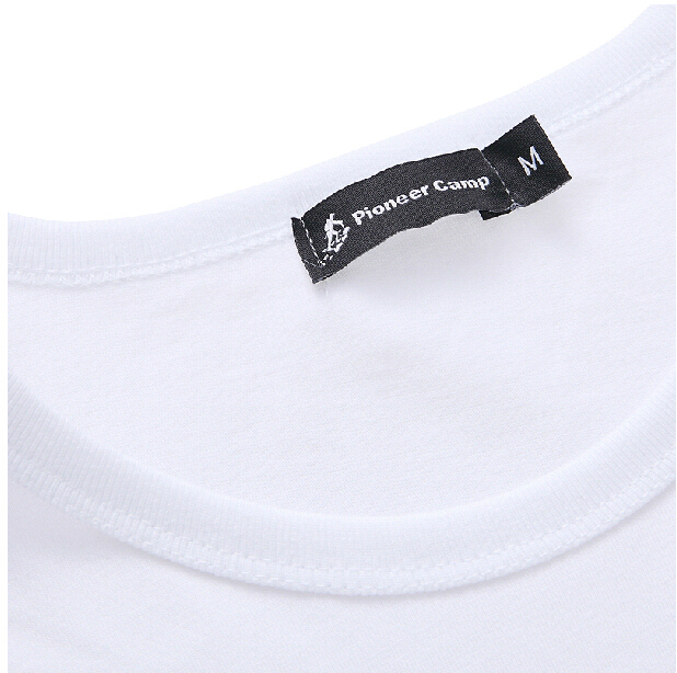 Image 4 - Pioneer Camp Pack of 3 promoting short sleeve t shirt men brand clothing summer solid t shirt male casual Tees-in T-Shirts from Men's Clothing