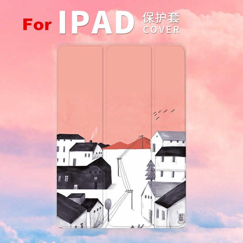 Hielo imán de nieve Flip Cover para iPad air, iPad Pro 9,7 11 aire 10,5 10,2 7th 12,9 Mini2 3 4 5 2019 Tablet caso para el nuevo iPad 9,7 De 2017 2018