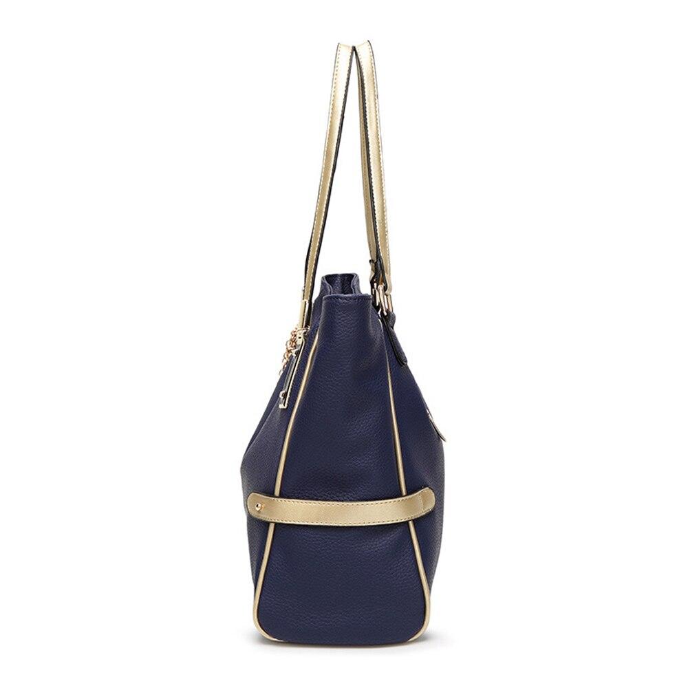 ženska torba velika Litchi linije Leptir privjesak torbe visoke - Torbe - Foto 3