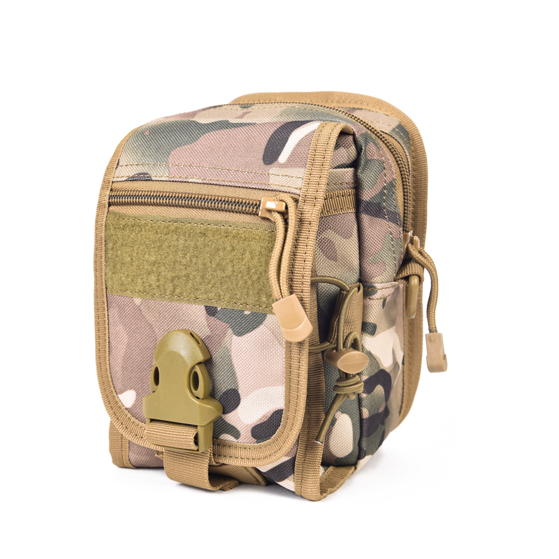 MOLLE System Men Bag Small Nylon Handbag Pouch Shoulder Bags Army Tactics Kit Tool Pack Military Equipment