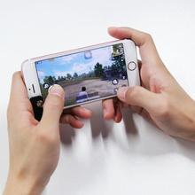 Universal Clip-on Game Joystick Membantu Alat Telepon Tablet Shooting Game Untuk PUBG STG FPS Gamepad Adapter Touch Screen Controller