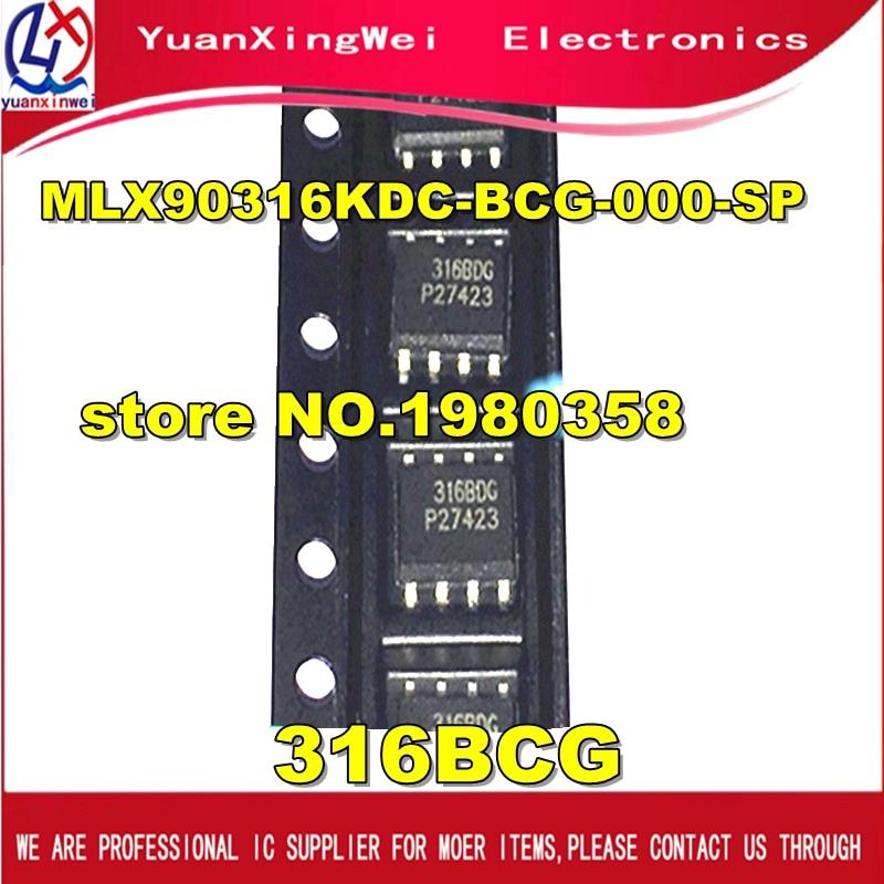 Free Shipping 10pcs/lot  316BCG sop8 mlx90316 mlx90316kdc-bcg ic MLX90316KDC-BCG-000-SP SOP8 стратегии которые работают подход bcg
