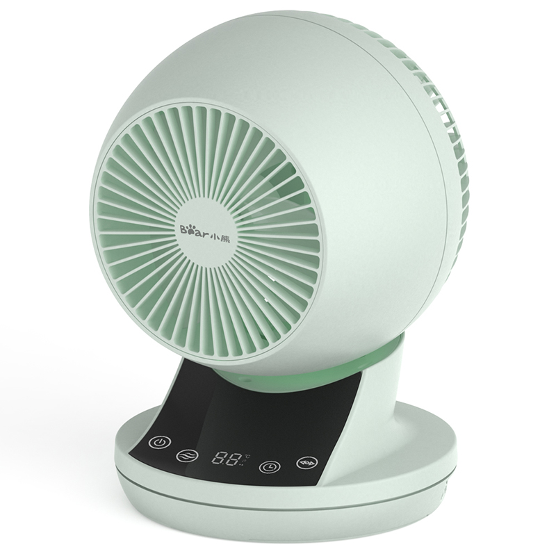 Ventilateur de bureau électrique ventilateur de circulation ménage silencieux calendrier de réservation 12 vitesses