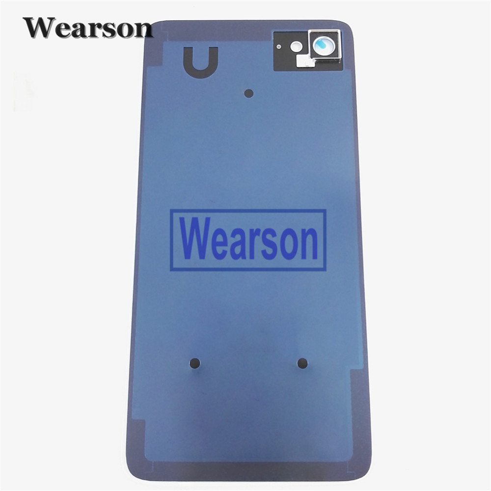 For Lenovo ZUK Z2 PLUS Back Cover Z2 PLUS Battery Cover Glass+Glue 100% Original New Free Shipping With Tracking Number (2)