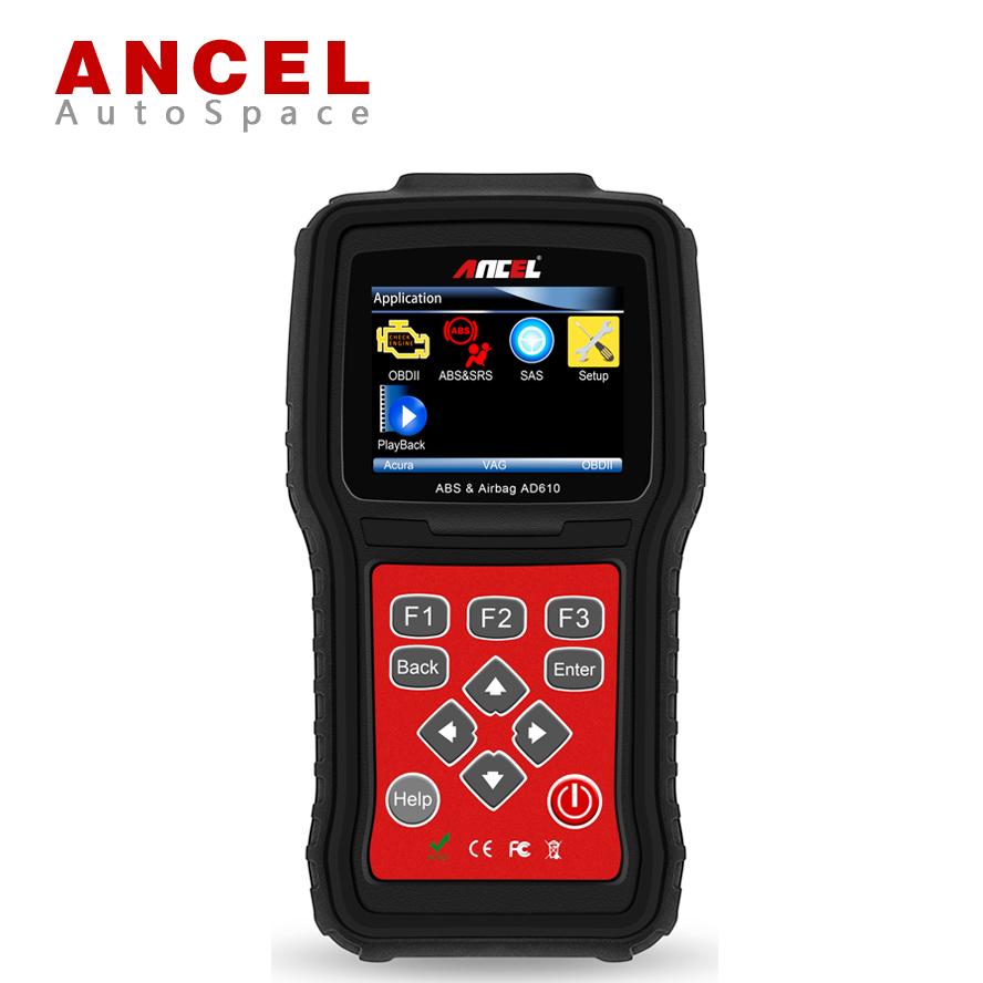 ANCEL AD610 Car OBD Diagnostic Tool for ABS Airbag Crash Data Reset Tool SRS SAS , Support Multi Brand PK Foxwell NT630 CRP123 july king 18w 6500k 6leds led daytime running lights led fog lamp case for peugeot 107 2012 2015 over 1260lm pc