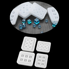 DIY Jewelry Tools Silicone Bead Mold Round Square Shape Handmade Jewelry Making Hand Craft Jewellery Tools(China)