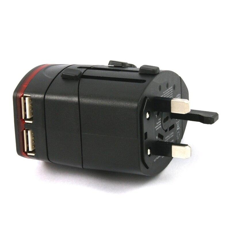 Top Deals AU/UK/US/EU Universal International/World/Travel Adapter/Converter Plug Power