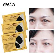 EFERO Collagen Eye Mask Remove Dark Circles Eye Patches For Eye Bags Care Dark Circles Anti-Aging Wrinkle Skin Care 8Pair=16Pcs efero 5pair 10pcs 24k gold serum collagen eye mask anti aging anti wrinkle remove dark circles eye bags gel collagen eye patch