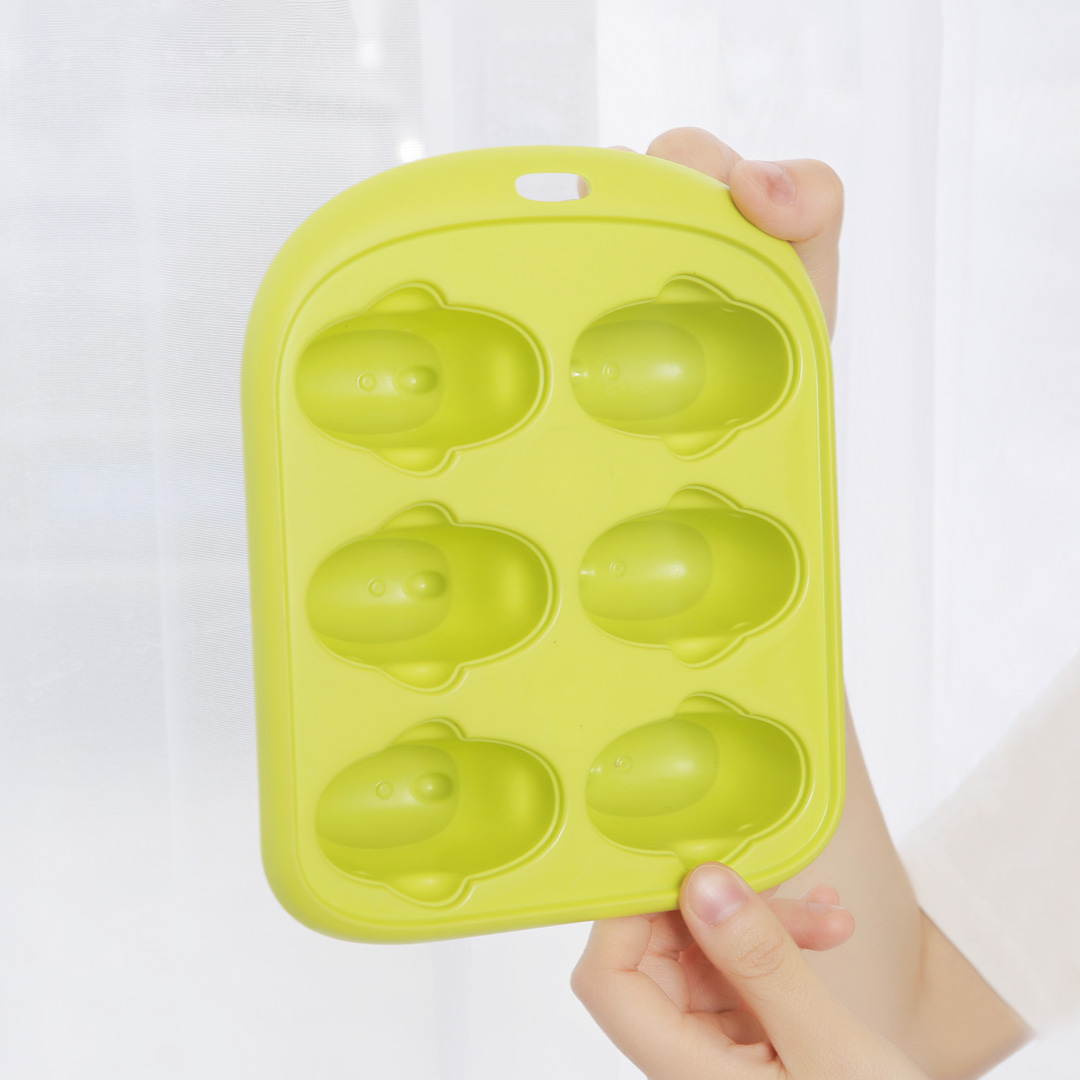 Image 4 - Xiaomi 6 Grids Food Grade Icy Tray Cute Whale Shape Ice Cream Popsicle Mold Creative Small Fruit Ice Cube Maker For Kitchen-in Smart Remote Control from Consumer Electronics