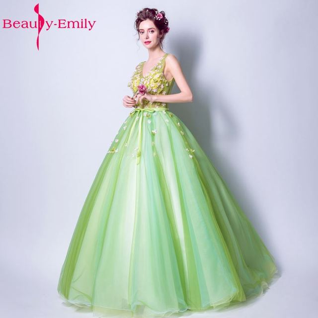 Beauty Emily Ball Gown Sky Blue Quinceanera Dressess 2017 Specail ...