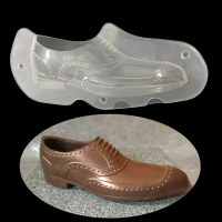 DIY Plastic New Design 3D Men S Shoes Shape Chocolate Mold Polycarbonate Ice PC Man