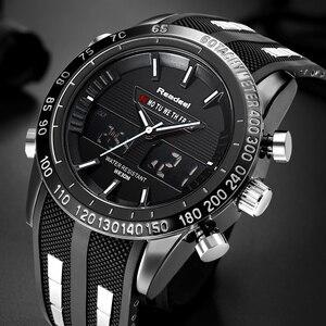 Image 3 - Montre de Sport de marque Readeel pour hommes montres haut de gamme de luxe pour hommes montre bracelet étanche à LED électronique numérique pour hommes relogio masculino
