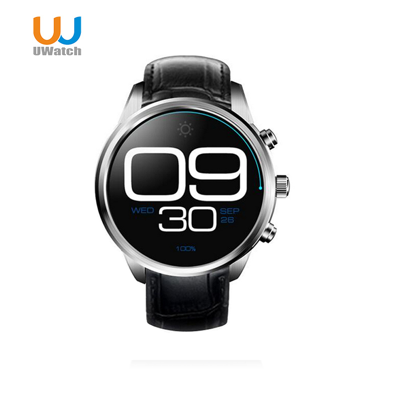 UWatch X5 Plus 3G Android 5.1 Smartwatch Bluetooth GPS MTK6580 Quad Core Wristwatch 1GB 8GB WiFi smart watch For iOS/Andorid no 1 d6 1 63 inch 3g smartwatch phone android 5 1 mtk6580 quad core 1 3ghz 1gb ram gps wifi bluetooth 4 0 heart rate monitoring