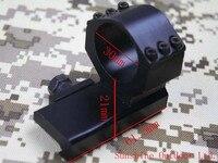 Montura baja de 30 mm Tipo L y brazo recto para M2 puntos rojos  M3 puntos rojos  montaje de anillo de lupa 3 x|Accesorios y monturas para visores|Deportes y entretenimiento -