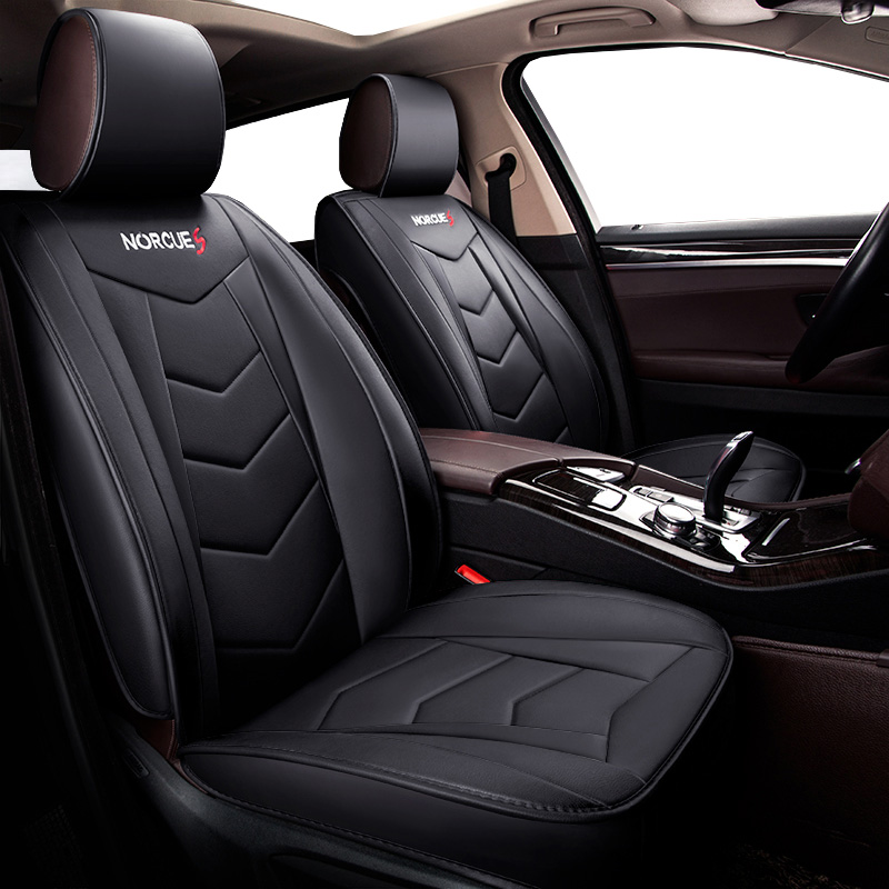 New Universal PU Leather car seat covers For Citroen C6 C5 C3-XR C-elysee C3 c4 grand picasso pallas c4l 2017 2016 2015 2014 kalaisike linen universal car seat covers for citroen all models c4 aircross c4 picasso c5 c4 c2 c6 c elysee c triomphe