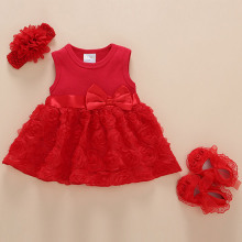 Korean version childrens dress princess summer baby girls