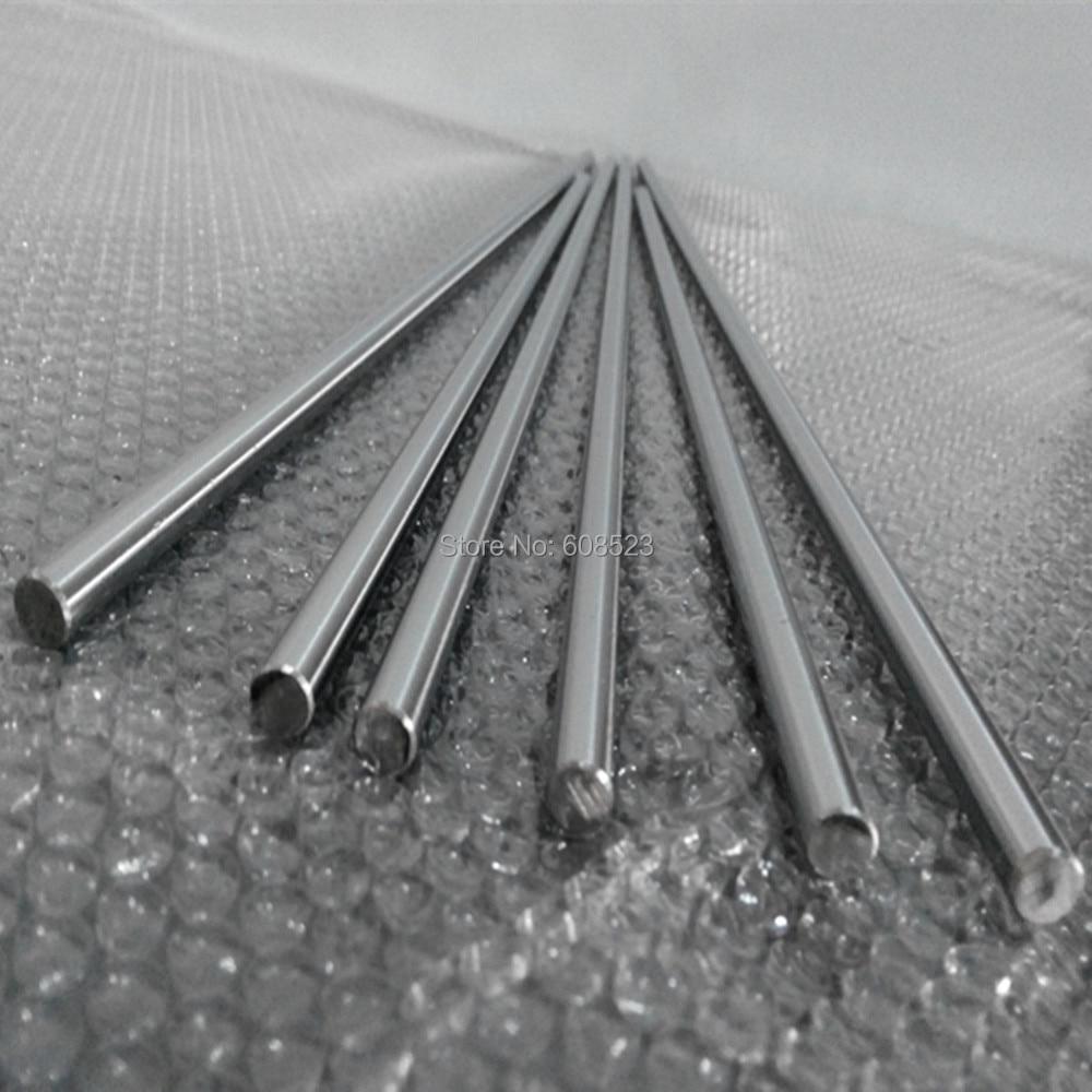 4pcs 8mm 8x300 linear shaft 3d printer 8mm x 300mm Cylinder Liner Rail Linear Shaft axis cnc parts axk 2pcs 8mm 8x700 linear shaft 3d printer 8mm x 700mm cylinder liner rail linear shaft axis cnc parts