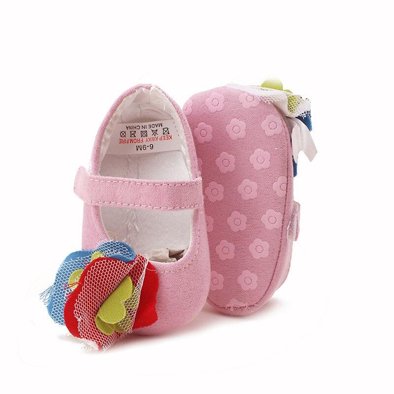 Delebao Säuglingskleinkinder bunte Blume Prinzessin Schuhe Leinwand - Babyschuhe - Foto 3