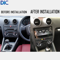 DLC Car player android navigation GPS keep original system bluetooth steering wheel control For Audi A3 2004 2012