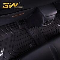 Автомобильные коврики для Lexus CT с 3 w заказной специальный термопластиковый коврик, черный