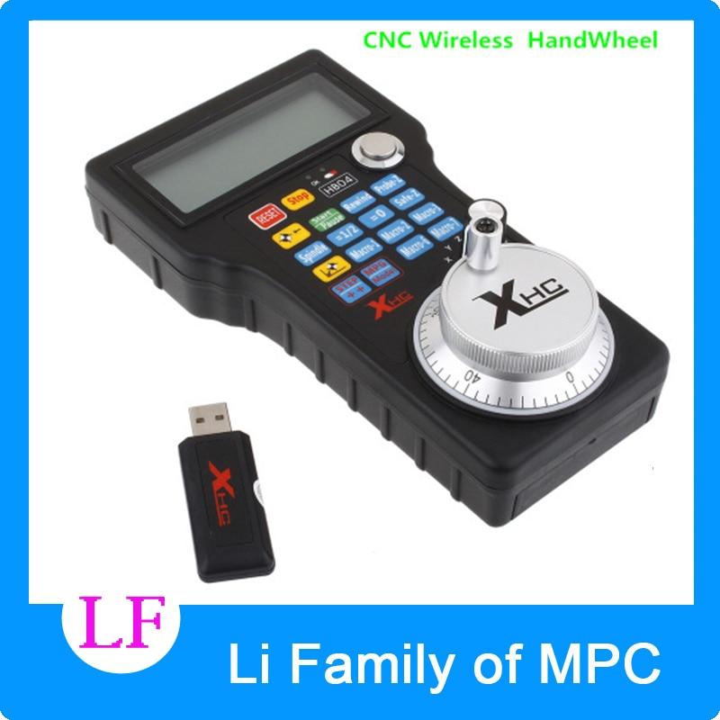 New Wireless USB MPG Pendant Handwheel Mach3 For CNC Mac.Mach 3, 4 axis controller CNC Wireless Handwheel