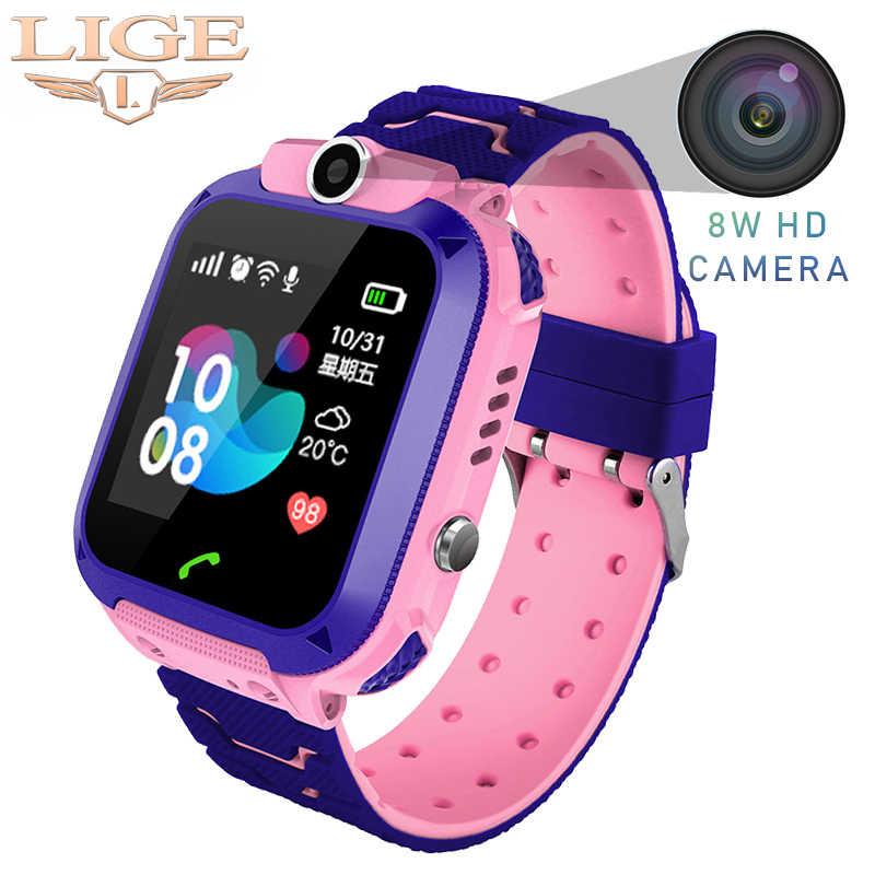 Смарт-часы LBS базовая станция положение Детские умные часы детские часы SOS поиск местоположения вызова анти-потеря дисплей 2G sim-карта