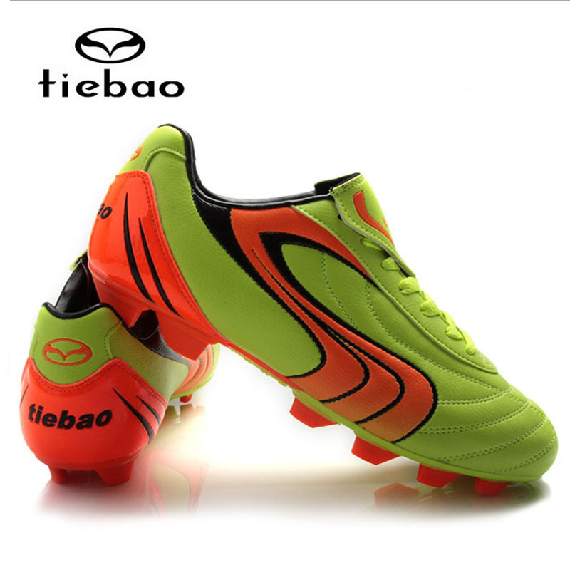 Tiebao Men Boy Kids Soccer Cleats Turf Football Soccer Shoes Tf Hard Court Sneakers Trainers New