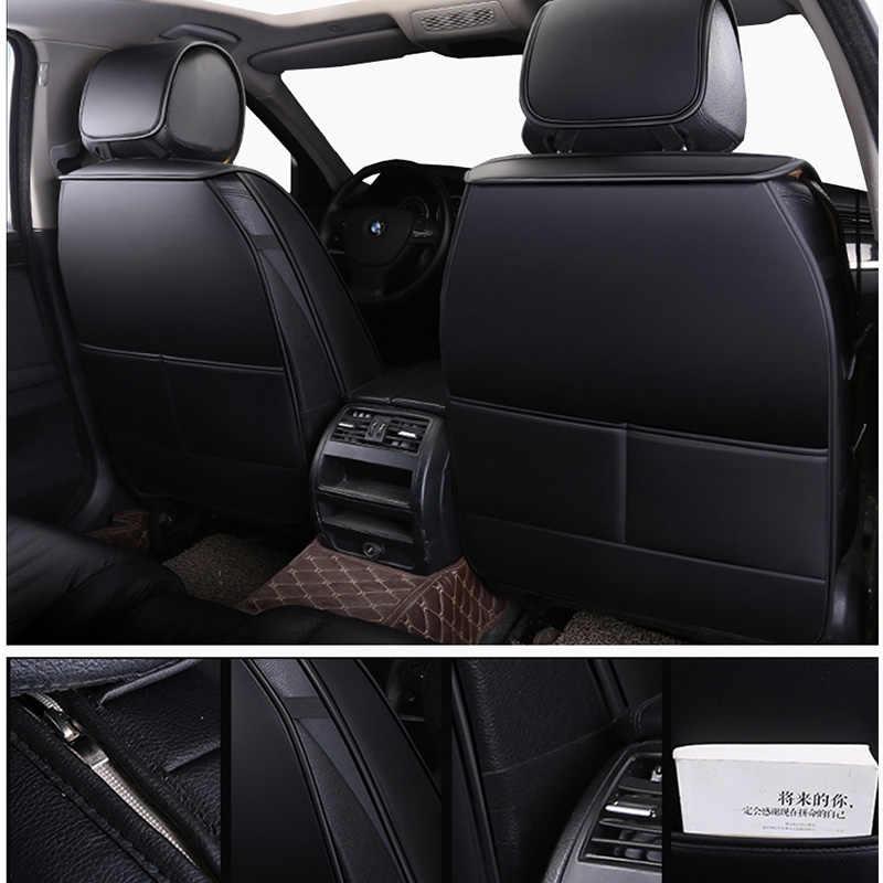 Couro PU Universal tampas de assento auto para changan cs35 cs75, zotye t600, 6 mg mg3, roewe 550 de 2010 2009 2008 2007