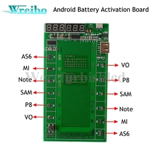Wrcibo Android phone Professional Battery Activation Charge PCB Board with USB Cable for VIVO for Samsung xiaomi Circuit Tester